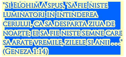 Geneza 1:14