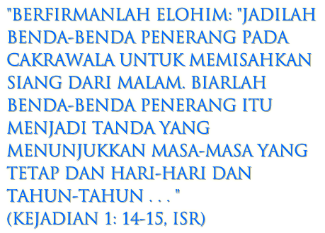Kejadian 1: 14-15