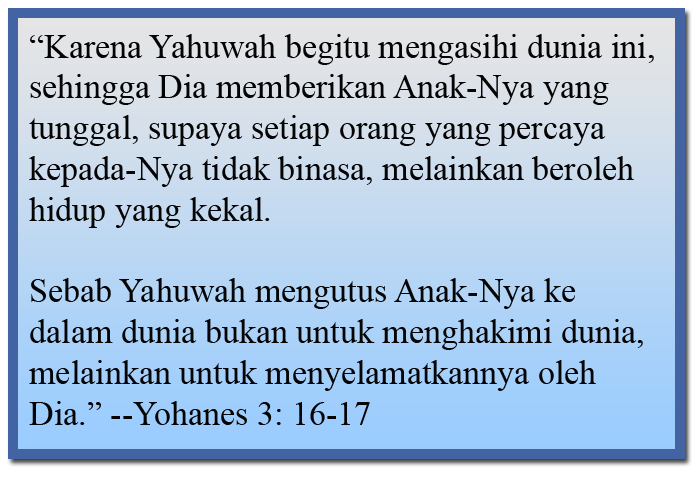Yohanes 3: 16-17