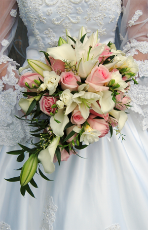 svatební boquet