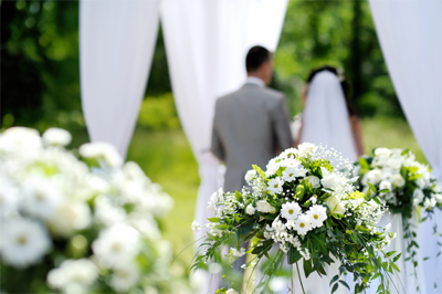 venkovní svatební
