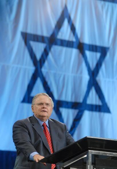 john Hagee podpora mesiášské judaismus
