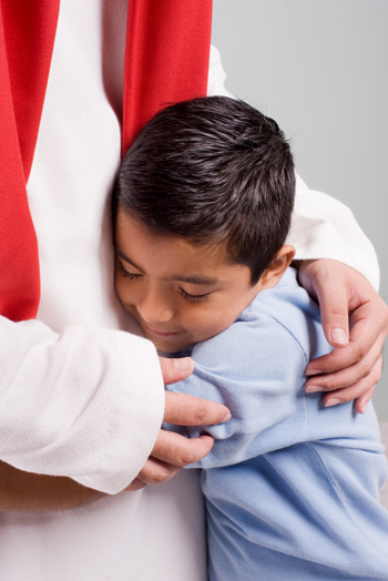 dítě lpí na Yahushua
