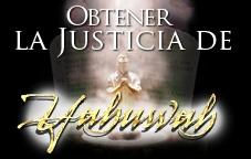 Obtener la Justicia de Yahuwah