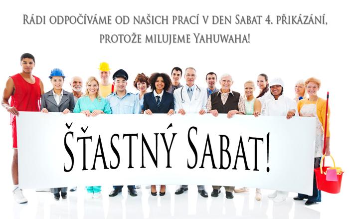 Šťastný Sabat!