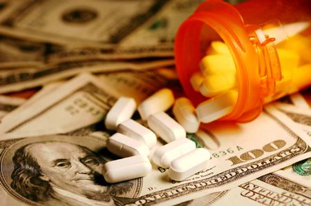 Money and pills
