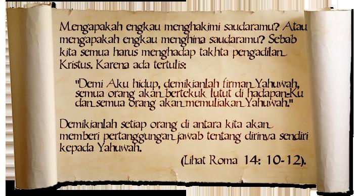 Roma 14:10-12