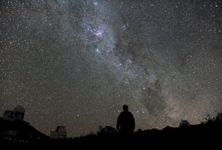 cer nocturn înstelat