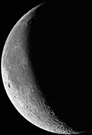 lună in descreștere