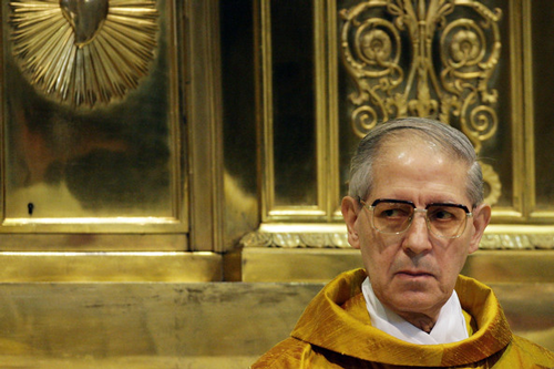 The current Superior General is the Reverend Father Adolfo Nicolás.
