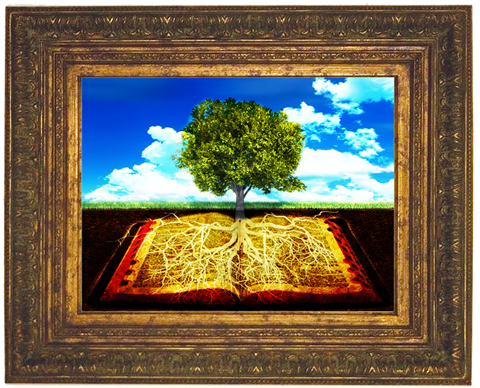 tree with roots grounded in bible