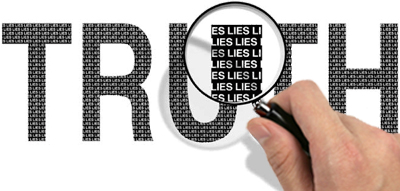 truth mixed with lies