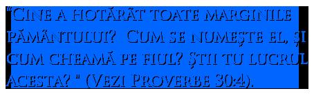 Proverbs 30:4