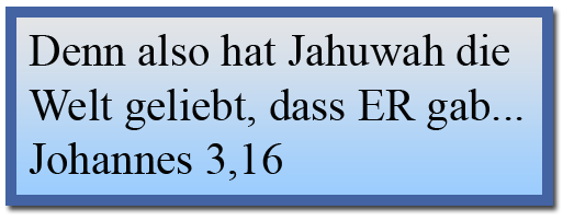 Johannes 3,16