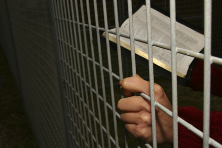 persecuted Christian in prison