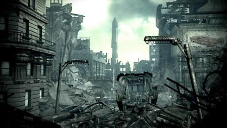 broken down city