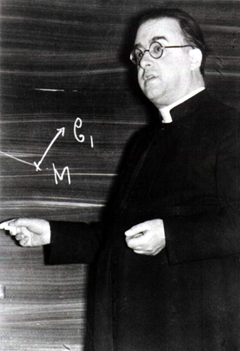 """Monseigneur Georges Lemaître, Jesuit-trained priest, author of the """"Big Bang"""" theory"""