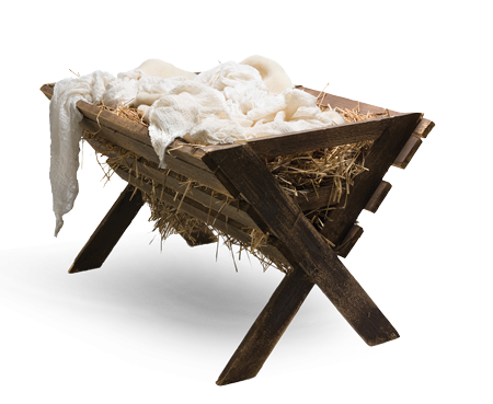 empty manger of Yahushua