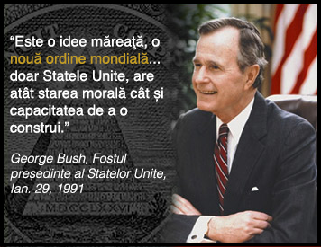 new world order - george bush