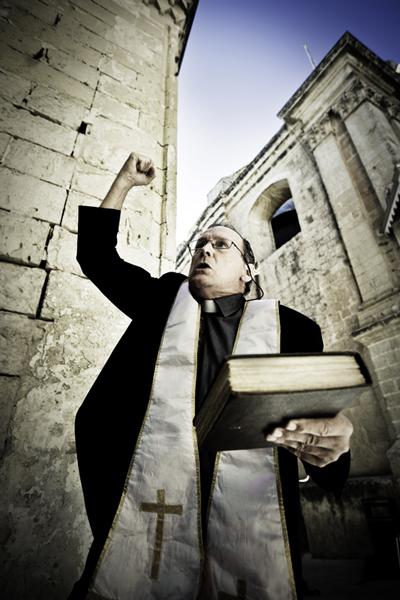 angry preacher