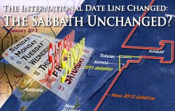 International Date Line Change: The Sabbath Unchanged?