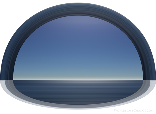 Flat Earth Firmament - Waters above and Waters below