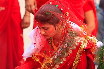 Nepalese bride