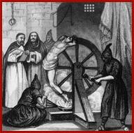 Roman Inquisition Torture Wheel