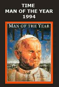 John Paul II, Man of the Year Magazine Cover (Arabic)