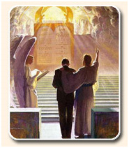 Ten Commandments in Heaven