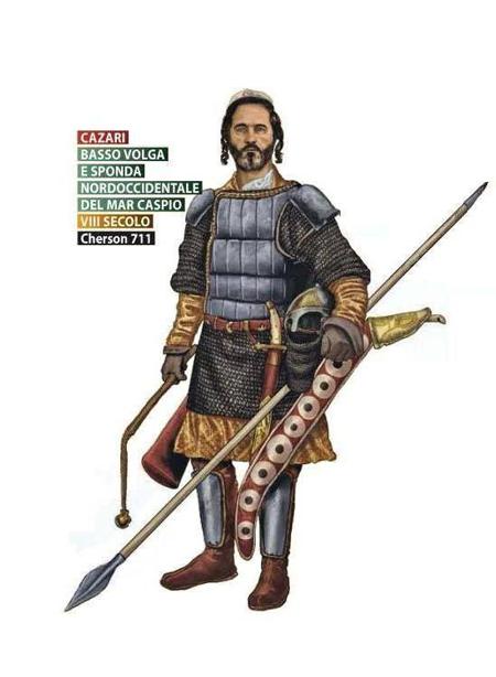 khazarian warrior