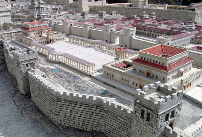 Model of Harod's Palace