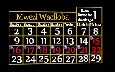 Kkalenda lya Pobwe lya Mavwuka