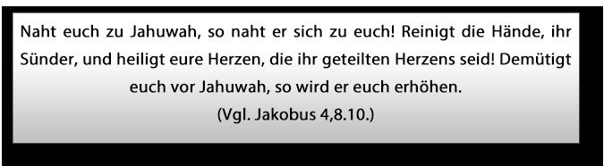 Jakobus 4,8.10.