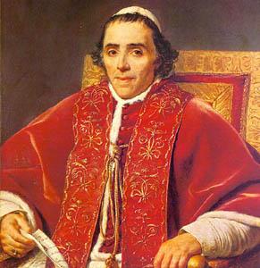 Papa Pius VII reinstitue Iezuiții