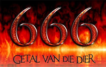 666 = Getal van die Dier