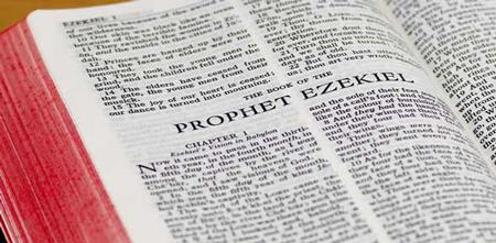 Bible ouverte - Livre d'Ezéchiel