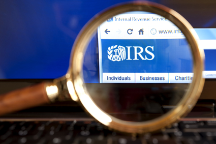 Websitul IRS