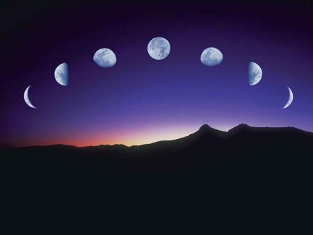 Mond Phasen
