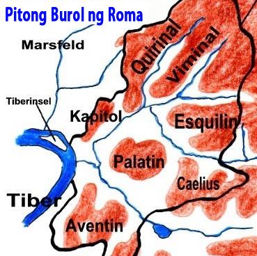 pitong burol ng Roma