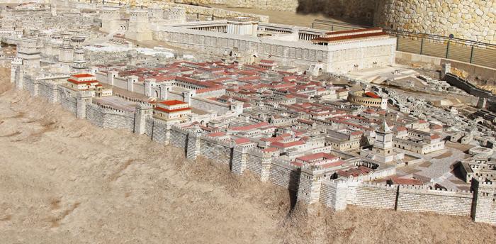 Bentuk kota Yerusalem