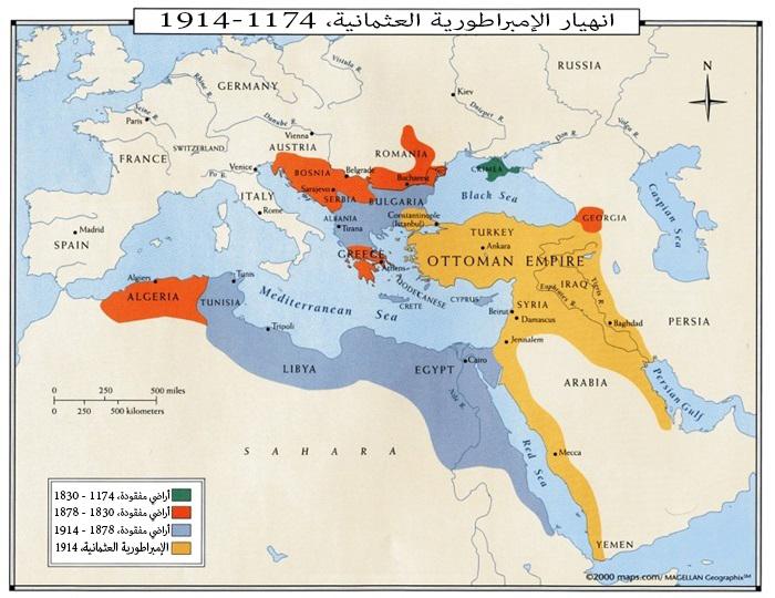 انهيار الإمبراطورية العثمانية 1174-1922