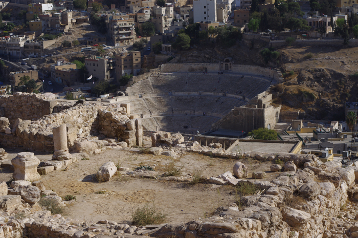 Amphitheater des antiken Philadelphia