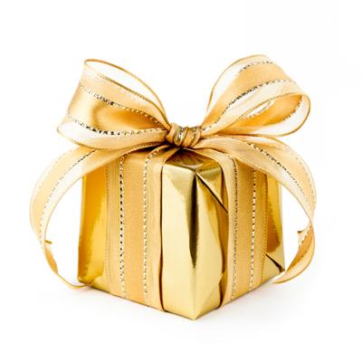 cadeau en or – cadeau doré