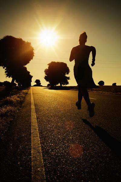 도로를 달리다