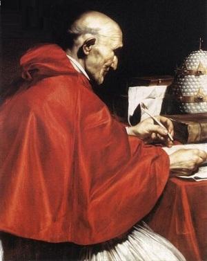 Pape Grégoire le Grand (Domaine public, via Wikimedia Commons)