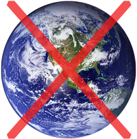 الأرض ليست كروية (كرة)