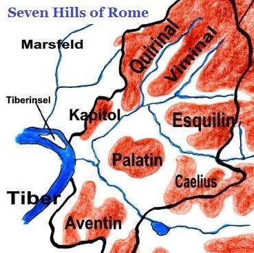 تلال روما السبعة