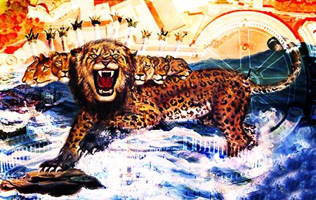 الوحش الطالع من البحر (رؤيا 13)