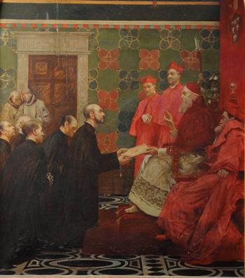 بولس الثالث يوافق على اليسوعيين